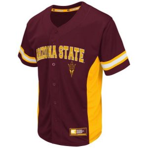 "ASU ""Strike Zone"" Men's Button Up Baseball Jersey"