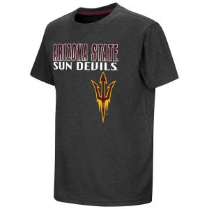 Boys 8-20 Campus Heritage Arizona State Sun Devils Heathered Tee