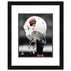 Arizona Cardinals Helmet Framed 11″ x 14″ Photo