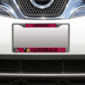 Arizona Cardinals Small Over Large Mega License Plate Frame
