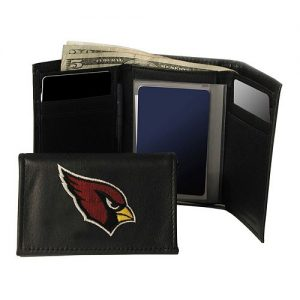 Arizona Cardinals Trifold Leather Wallet