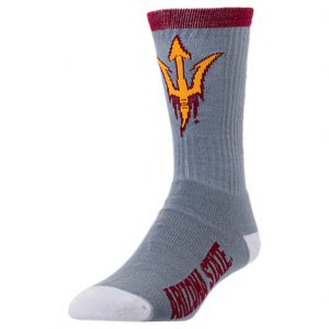 Arizona State Sun Devils College Jump Key Socks