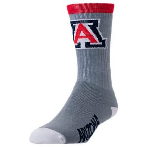 Arizona Wildcats College Jump Key Socks