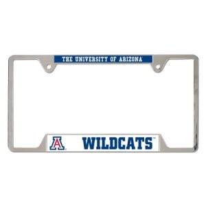 Arizona Wildcats Official NCAA 12 inch x 6 inch Metal License Plate Frame by Wincraft