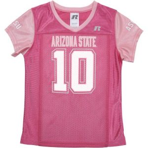 ASU Girls Short Sleeve V-Neck Jersey