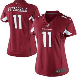 Larry Fitzgerald Arizona Cardinals Nike Women's Limited Jersey