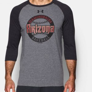 Diamondbacks Baseball Long Sleeve Shirt- mens