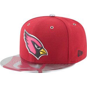 Men's Arizona Cardinals New Era Cardinal 2017 NFL Draft Spotlight Fitted Hat