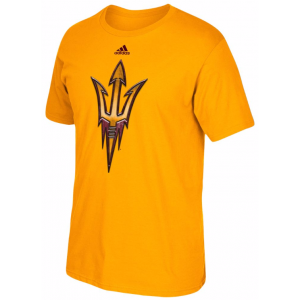 ADIDAS COLLEGE CHROMED LOGO T-SHIRT – MEN'S