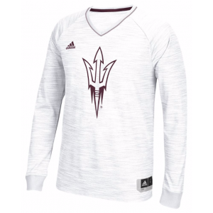 ADIDAS COLLEGE ON COURT L/S SHOOTING SHIRT – MEN'S