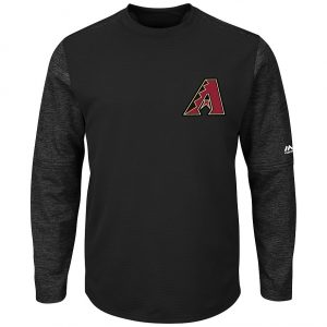 Men's Majestic Arizona Diamondbacks Tech Fleece Tee