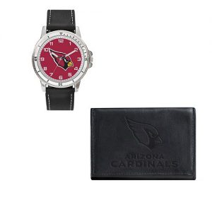 Men's Sparo Arizona Cardinals Watch and Wallet Set