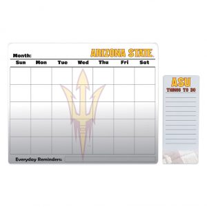 Arizona State Sun Devils Dry Erase Calendar & To-Do List Pad Set