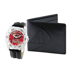 Diamondbacks Watch & Bifold Wallet