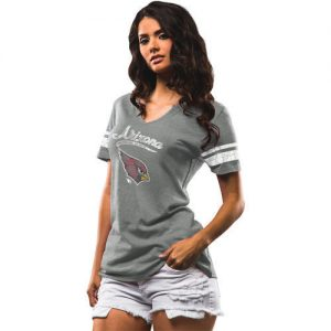 Cardinals Majestic Women's Game Tradition T-Shirt – Gray