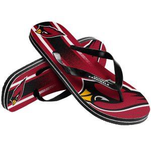 Arizona Cardinals Gradient Flip Flops
