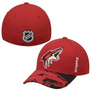 Arizona Coyotes Garnet 2015 NHL Draft Structured Flex Hat