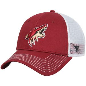 Arizona Coyotes Garnet Core Trucker Adjustable Snapback Hat