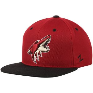 Arizona Coyotes Garnet/Black Z11 Snapback Adjustable Hat