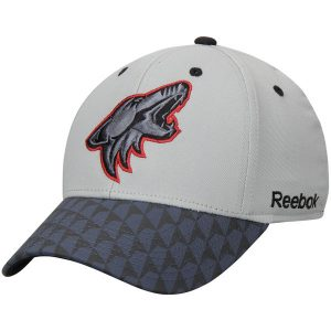 Arizona Coyotes Gray Crosscheck 2-Tone Structured Flex