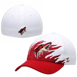 Arizona Coyotes White Flame Flex Hat