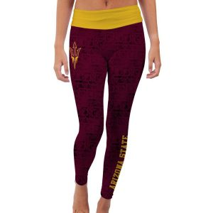 Arizona State Sun Devils Women's Maroon Made Loyal Leggings