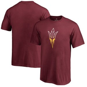 Arizona State Sun Devils Youth Maroon Gradient Logo T-Shirt