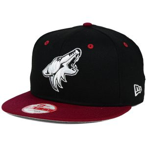 Coyotes Black White Team Color 9FIFTY Snapback