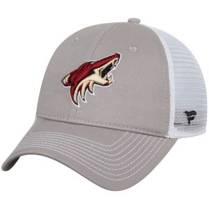 Coyotes Gray/White Core Trucker Adjustable Snapback