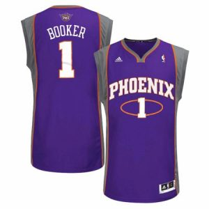 Devin Booker Phoenix Suns NBA Adidas Men's Purple Jersey