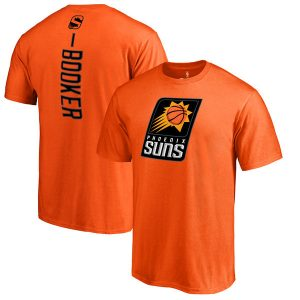 Devin Booker Phoenix Suns Orange Backer T-Shirt