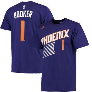 Devin Booker Phoenix Suns adidas Net Number T-Shirt