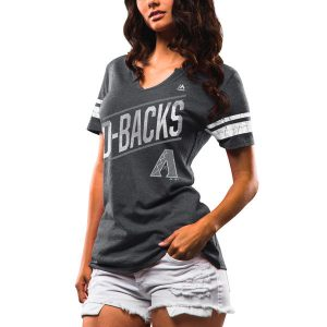 Diamondbacks Black Majestic Success Is Earned Notch Neck