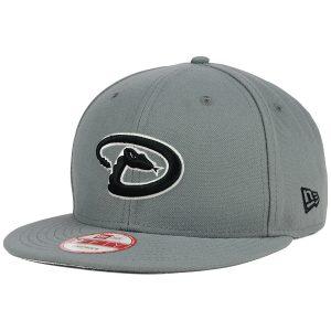 Diamondbacks Gray Black White 9FIFTY Snapback Cap