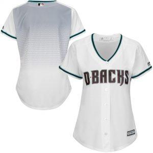 Diamondbacks Women's White Cool Base Jersey