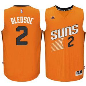 Eric Bledsoe Phoenix Suns Orange Swingman climacool Jersey