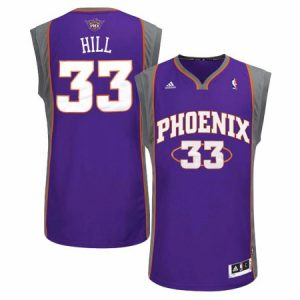 Grant Hill Phoenix Suns NBA Adidas Men's Purple Jersey