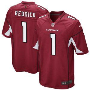 Men's Arizona Cardinals Haason Reddick Nike Cardinal 2017 Draft Pick Game Jersey