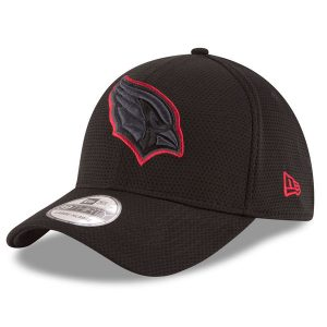 Men's Arizona Cardinals New Era Black Tone Tech Redux 39THIRTY Flex Hat