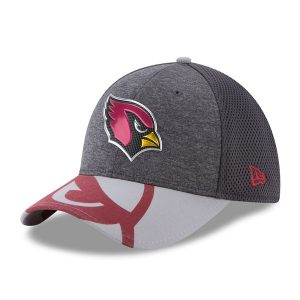 Men's Arizona Cardinals New Era Graphite 2017 NFL Draft Spotlight 39THIRTY Flex Ha