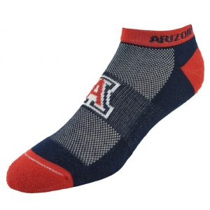 Men's Arizona Wildcats Spirit No-Show Socks