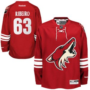 Mike Ribeiro Arizona Coyotes Red Home Premier Jersey
