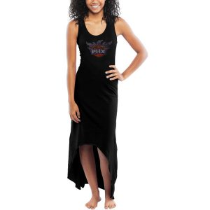 Miss Fanatic Phoenix Suns Women's Black Moneymaker Maxi Dress