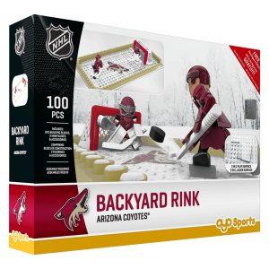 NHL Phoenix Coyotes Arizona Ctes Backyard Rink Set, Small, Black