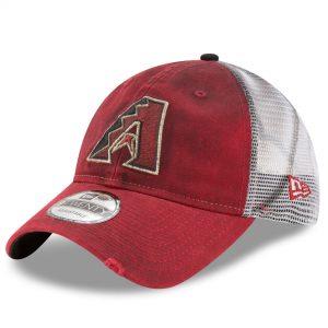 New Era Arizona Diamondbacks Red Team Rustic 9TWENTY Adjustable Hat