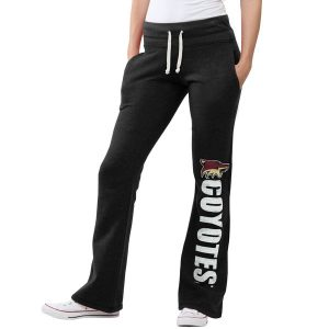 Arizona Coyotes Women's Black Slim Fit Fleece Pants