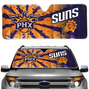 Phoenix Suns Auto Sun Shade