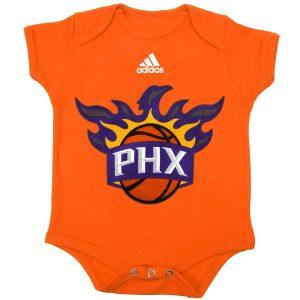Phoenix Suns Newborn Orange Primary Logo Bodysuit