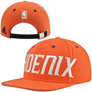 Phoenix Suns Oversized Wordmark Adjustable Strapback Hat