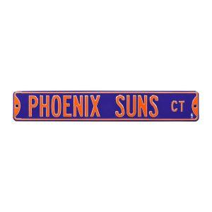 Phoenix Suns Purple 6″ x 36″ Steel Street Sign
